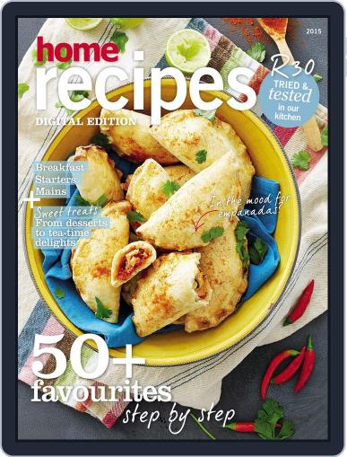 Home Recipes Magazine (Digital) March 17th, 2015 Issue Cover