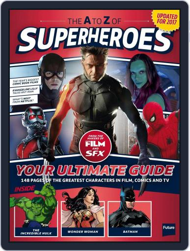 The A To Z Of Superheroes Magazine (Digital) April 1st, 2017 Issue Cover