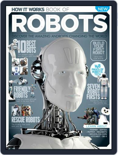 How It Works Book of Robots Magazine (Digital) November 1st, 2016 Issue Cover