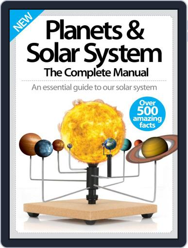 Planets & Solar System The Complete Manual Magazine (Digital) April 1st, 2016 Issue Cover