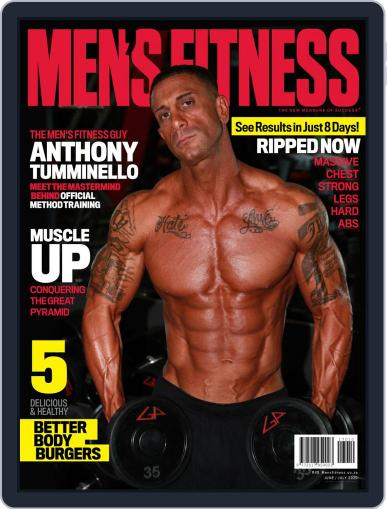 Men's Fitness South Africa Magazine (Digital) June 1st, 2020 Issue Cover