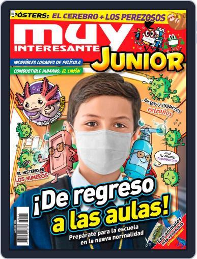 Muy Interesante Junior Mexico Magazine (Digital) August 1st, 2020 Issue Cover