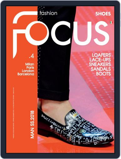FASHION FOCUS MAN SHOES (Digital) February 2nd, 2018 Issue Cover