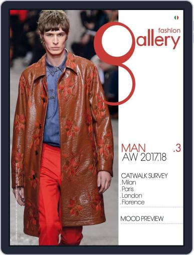 FASHION GALLERY MAN (Digital) September 1st, 2017 Issue Cover