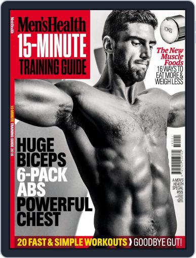 Men's Health 15 Min workouts Magazine (Digital) September 30th, 2016 Issue Cover