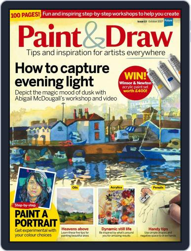Paint & Draw (Digital) October 1st, 2017 Issue Cover
