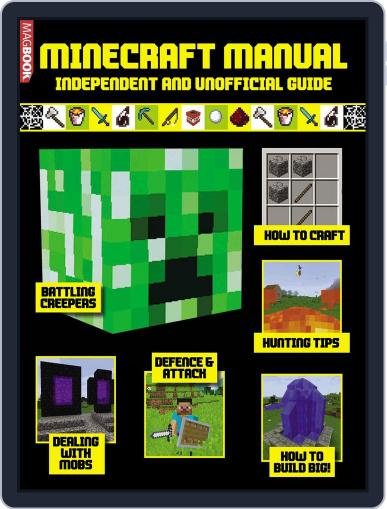 Minecraft Manual Magazine (Digital) September 30th, 2016 Issue Cover