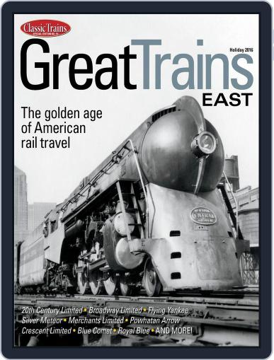 Great Trains East Magazine (Digital) January 1st, 2016 Issue Cover