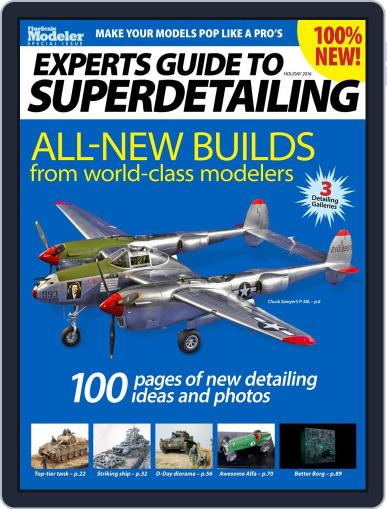 Experts Guide to Superdetailing Magazine (Digital) October 1st, 2016 Issue Cover