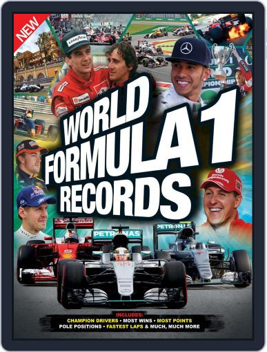 World Formula 1 Records Book Magazine (Digital) October 31st, 2016 Issue Cover