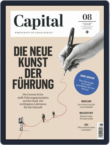 Capital Germany Magazine (Digital) August 1st, 2020 Issue Cover