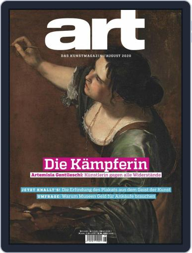 art Magazin Magazine (Digital) August 1st, 2020 Issue Cover