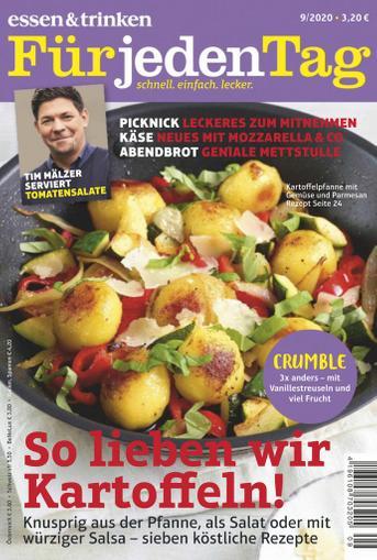 essen&trinken für jeden Tag Magazine (Digital) September 1st, 2020 Issue Cover