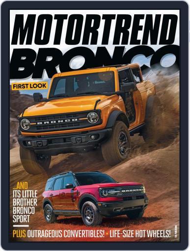 MotorTrend Magazine (Digital) September 1st, 2020 Issue Cover