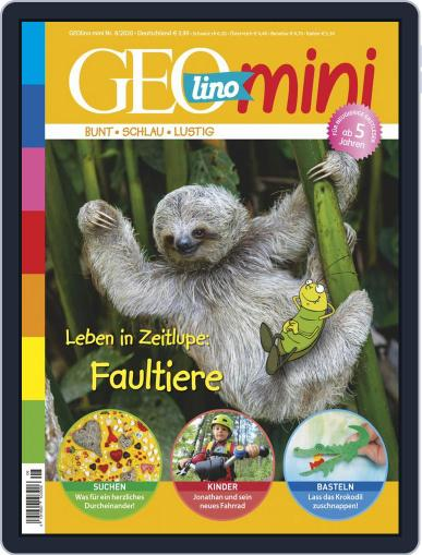 GEOmini Magazine (Digital) August 1st, 2020 Issue Cover