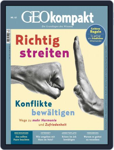 GEOkompakt Magazine (Digital) June 1st, 2020 Issue Cover
