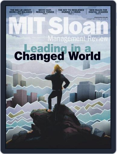 MIT Sloan Management Review Magazine (Digital) June 1st, 2020 Issue Cover