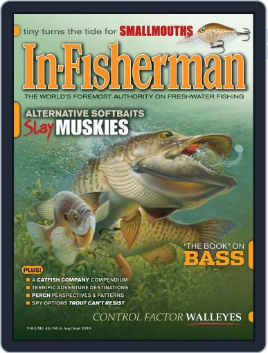 In-Fisherman Magazine (Digital) August 1st, 2020 Issue Cover