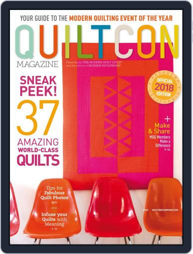 QUILTCON 2017 Magazine (Digital) February 1st, 2018 Issue Cover
