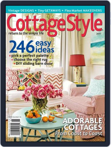 Country Collectibles Cottage Style Magazine (Digital) May 29th, 2017 Issue Cover