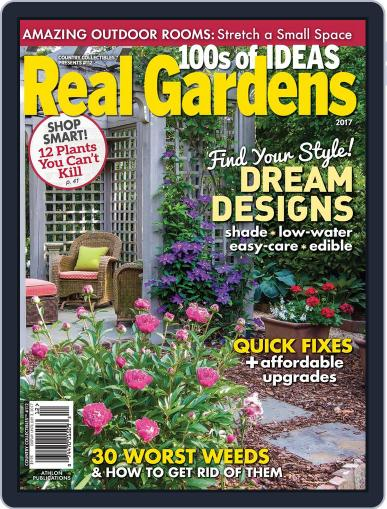 Real Gardens Magazine (Digital) March 1st, 2017 Issue Cover