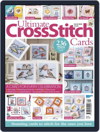 Ultimate Cross Stitch Cards Magazine (Digital) March 1st, 2020 Issue Cover