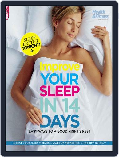 H&F Improve your sleep in 14 days Magazine (Digital) April 1st, 2017 Issue Cover
