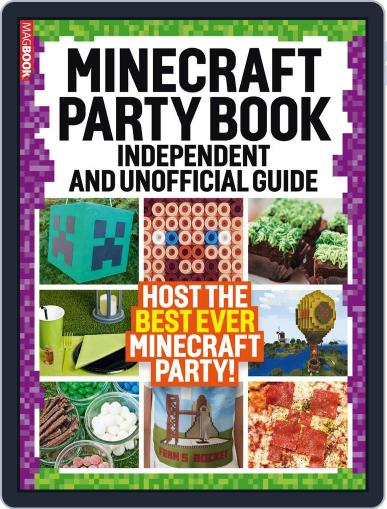 Minecraft Party book Magazine (Digital) April 1st, 2017 Issue Cover