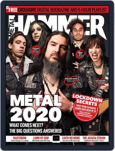 Metal Hammer UK Magazine (Digital) August 1st, 2020 Issue Cover