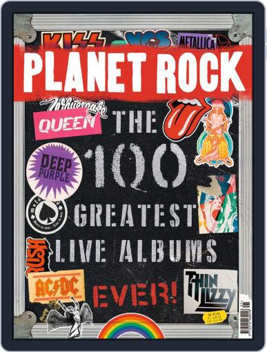 Planet Rock (Digital) August 1st, 2020 Issue Cover