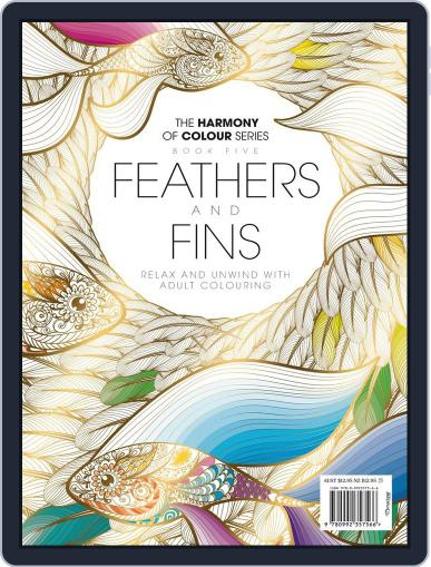 Colouring Book: Feathers and Fins Magazine (Digital) June 1st, 2017 Issue Cover