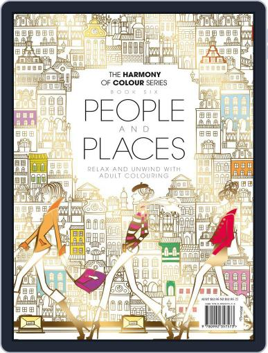 Colouring Book: People and Places Magazine (Digital) June 1st, 2017 Issue Cover