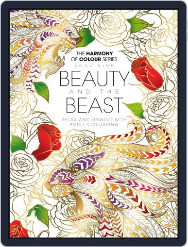 Colouring Book: Beauty and the Beast Magazine (Digital) June 1st, 2017 Issue Cover