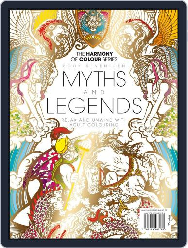 Colouring Book: Myths and Legends Magazine (Digital) June 1st, 2017 Issue Cover