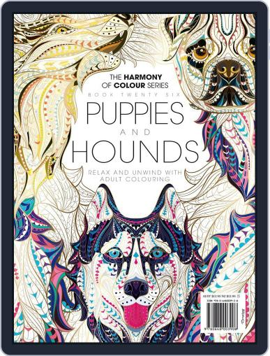 Colouring Book: Puppies and Hounds Magazine (Digital) June 1st, 2017 Issue Cover