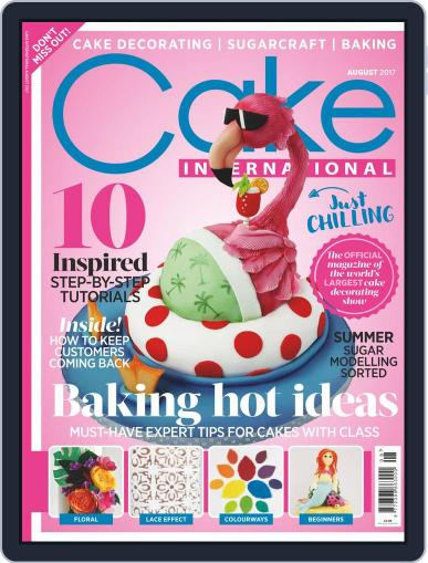 Cake International (Digital) August 1st, 2017 Issue Cover