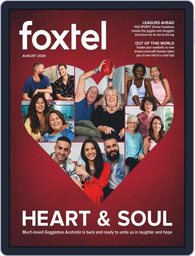 Foxtel Magazine (Digital) August 1st, 2020 Issue Cover