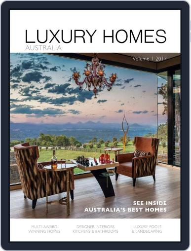 LUXURY HOMES AUSTRALIA (Digital) June 19th, 2017 Issue Cover