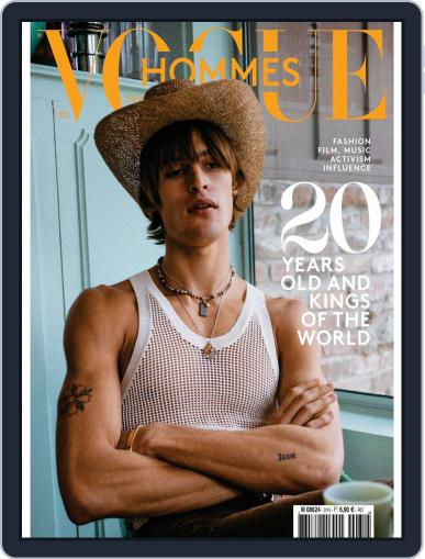 Vogue hommes English Version Magazine (Digital) Cover