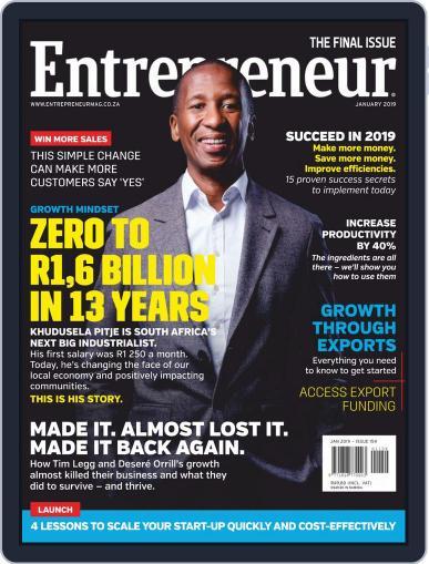 Entrepreneur Magazine South Africa (Digital) Cover