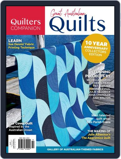 Great Australian Quilts Magazine (Digital) Cover
