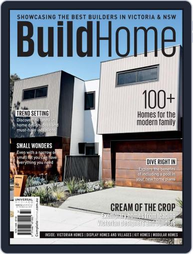 BuildHome Victoria Magazine (Digital) Cover