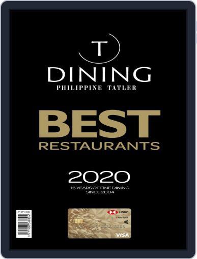 Philippines' Best Restaurants Magazine (Digital) Cover