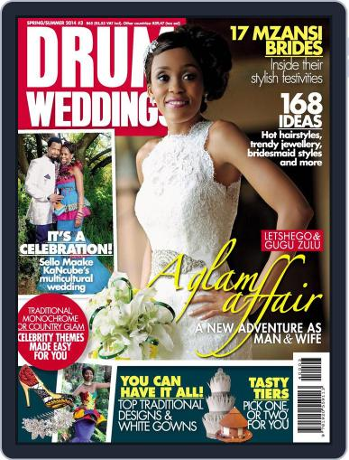 Drum Weddings Magazine (Digital) Cover