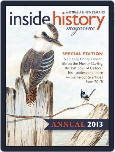 Inside History - Annual Magazine (Digital) Cover