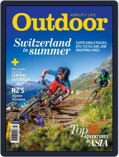 Outdoor Magazine (Digital) Cover