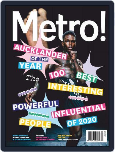 Metro NZ Magazine (Digital) Cover