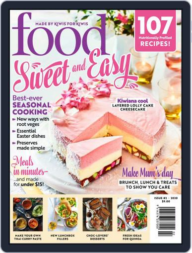 Food Magazine (Digital) Cover