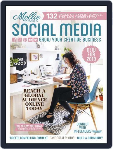 Mollie Makes Social Media Magazine (Digital) Cover