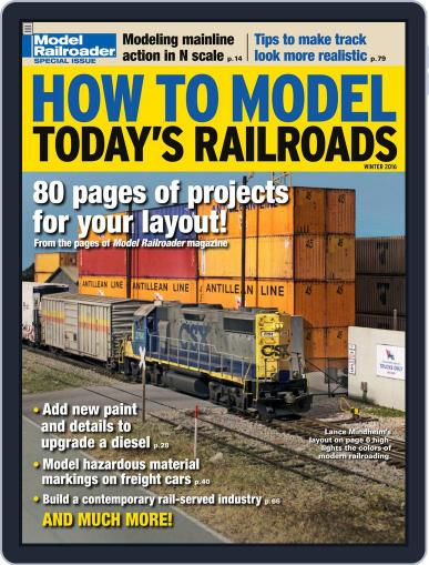 How to Model Today's Railroads Magazine (Digital) Cover